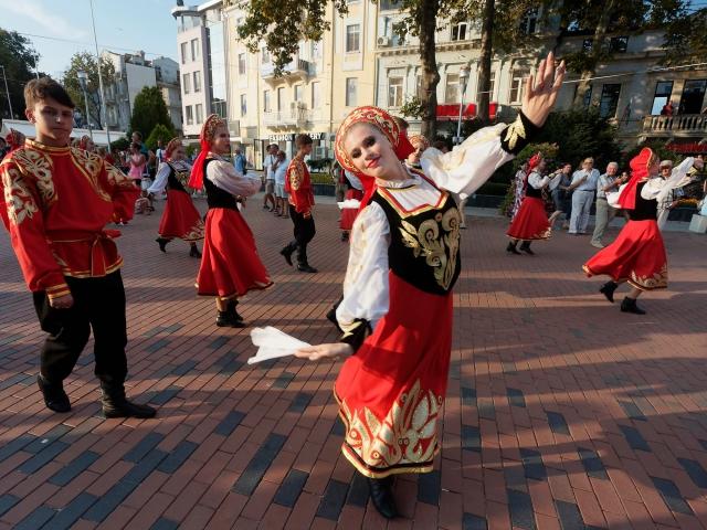 Ансамбль Калинка на фестивале в Варне. Фото: www.facebook.com/varnafolk.org
