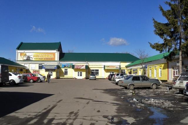 Бывшая мельница Петухова - ныне ТЦ Мельница. Фото: А.Дмитроченко