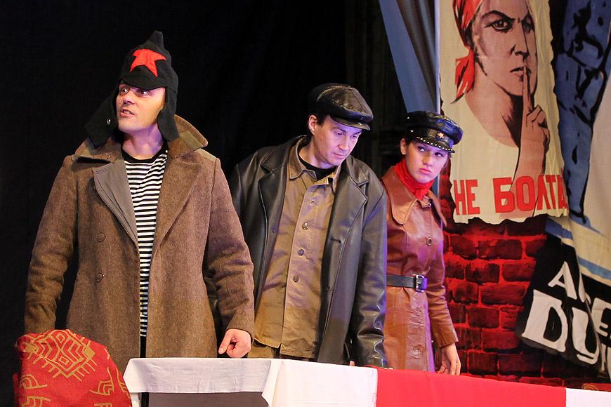 Собачье сердце, Московский Независимый театр, Новозыбков, 25.02.2013. Фото: К.Карпов