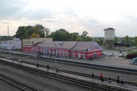 Железнодорожный вокзал станции Новозыбков. Фото: К.Карпов