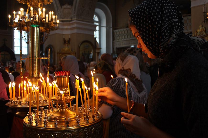 Молебен на начало нового учебного года. Новозыбков. 30 августа 2012 г.