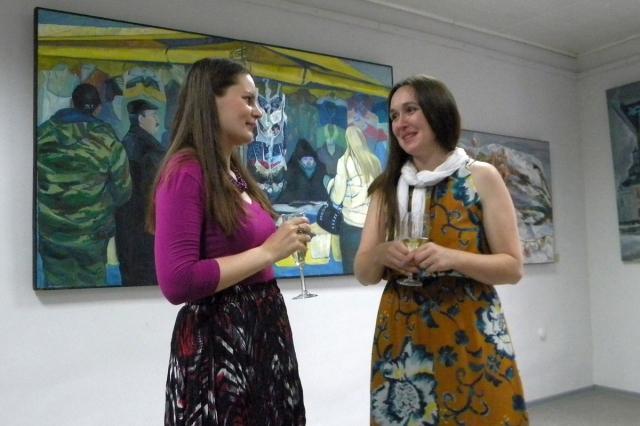 Анна Курило и Ирина Грабор
