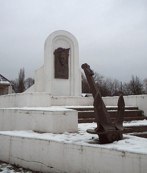 Памятник Р.Алексееву в Новозыбкове