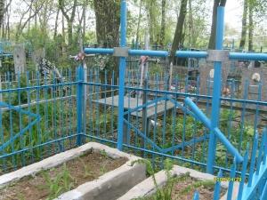 Могилы П.А. и Н.Д. Расторгуевых