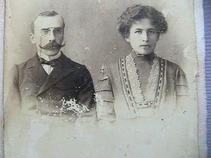 П.А.Расторугев с женой Надеждой Дмитриевной