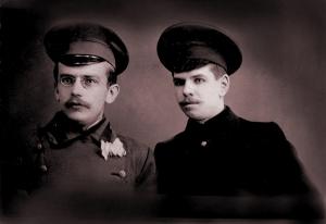 П.А.Расторугев в студенческие годы