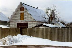 Новое строение на месте снесённого дома П.А.Расторгуева
