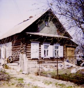 Дом П.А.Расторгуева в Новозыбкове (ул. Комсомольская, 64; не сохранился), фото 1996 г.