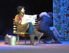 Спектакль «Скамейка, улица, фонарь...», театральная студия «Крылья», г. Одинцово