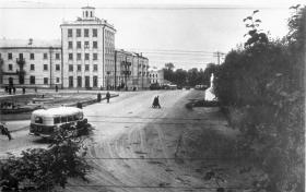 Площадь в начале 60-х. Фото В.Мельникова