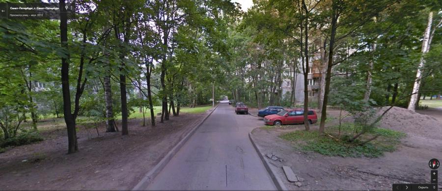 Бывшая Новозыбковская улица в Санкт-Петербруге (сервис Гугла «Просмотр улиц»)