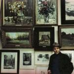 П.А.Чернышевский у своих картин