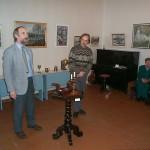 Открытие второй выставки Зыбчан