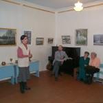 Открытие Открытие второй выставки Зыбчан