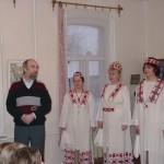 Представление ансамбля Селяночка, 2000г
