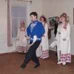 Декабрьские вечера. Выступает ансамбль Селяночка, 2000 г.