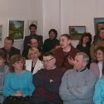 Открытие второй выставки, выступает Г.Злотина