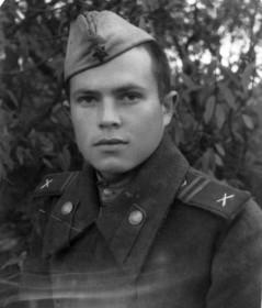 Е.Мосягин в армии