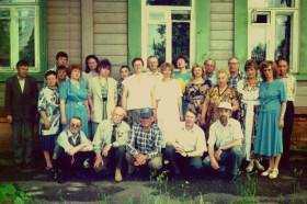 На встрече с Зыбчанами, 1998 г.