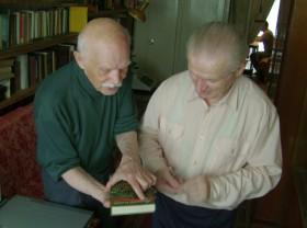 Е.Мосягин с А.Кублицким, 2008 г.