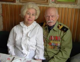 С женой Зинаидой Семеновной