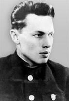 Р.Алексеев в годы учебы