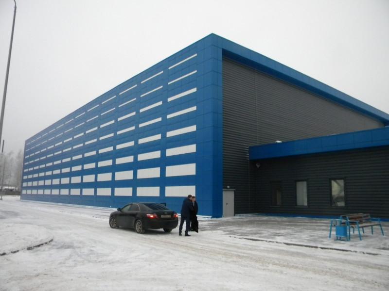 Ледовая арена в пгт Климово