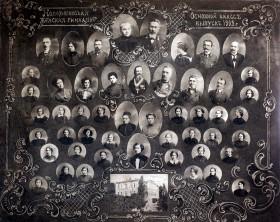 Выпуск основного класса Новозыбковской женской гимназии за  1913 год. МГУК Новозыбковский краеведческий музей