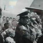 Гагарин в Новозыбкове. Встреча на аэродроме. 1966 г.
