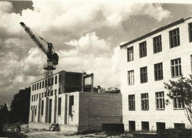 НСХТ строится. Конец 50-х - начало 60-х