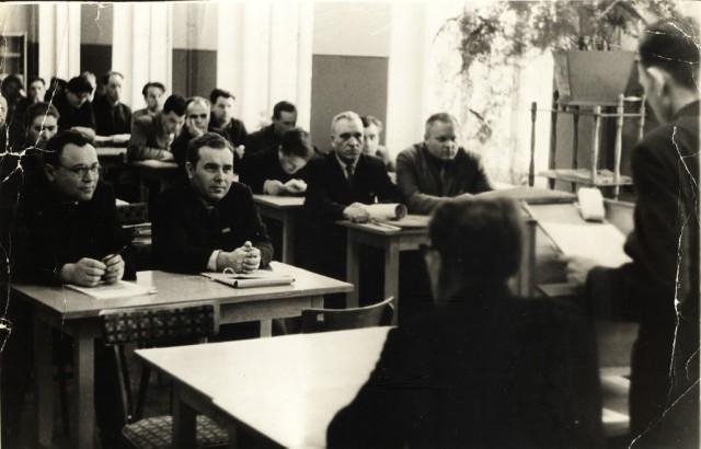 Педсовет. 60-ые годы