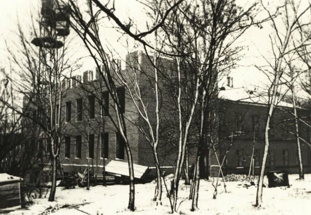 Строительсто главного корпуса НСХТ. Конец 50-х - начало 60-х годов