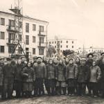 50-е начало 60-х Бригада Юнга А.Ф. заводской квартал в центре города