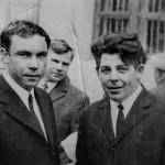 Слева Пашков С.И., справа  Чечуков Б.К. (70-е годы)