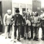 80-е годы Бригада отделочников на объекте