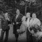 Красовский Василий Федорович.-третий слева.  Шевцов Яков  Тихонович-шестой