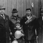 Слева второй - Красовский В.Ф., третий - Амирян А.С. , четвёртый - Кушиков Г., пятый - Шевцов Я.Т.