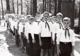 В пионерском лагере. Фото из архива Александра Фаранова