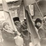 слева-Сипина Л.Д.  Справа-Ребенок Н.Я. кстати он построил школу №9 полностью от самого  первого  колышка