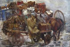 Старьёвщик на картине С.Архипова