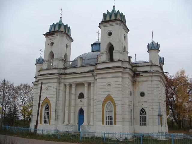 Спасо-Преображенский собор с. Великая Топаль