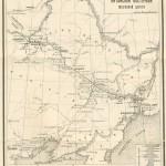Карта линий КВЖД