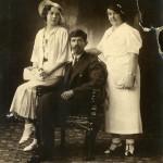 Мастюгин П.Ф. с семьей. Харбин