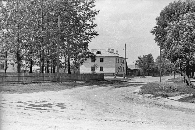 Дом в начале Цветной улицы (ныне ул. 307 Дивизии)