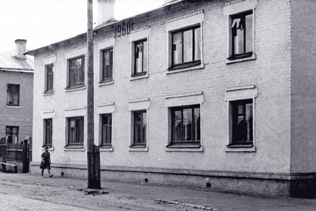 Дом 40 по ул. Вокзальной на старой фотографии