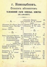 Календарь и справочник Весь Новозыбков на 1914 г (2)