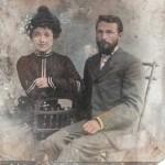 Супруги Шишкины. 1901 г.