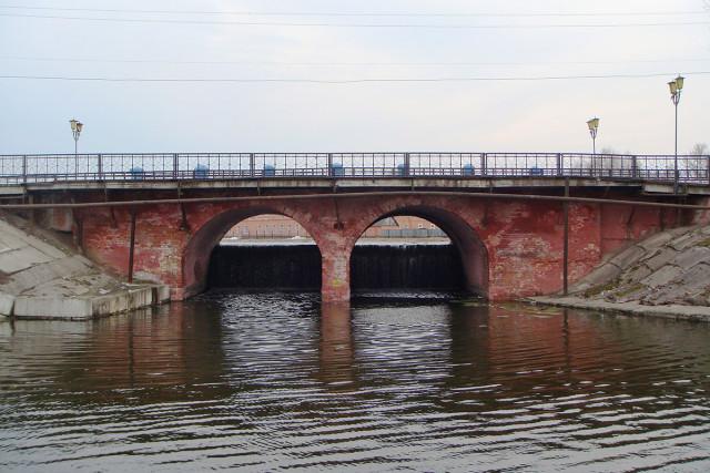 Мост. Март 2009 г. Фото А. Дудников