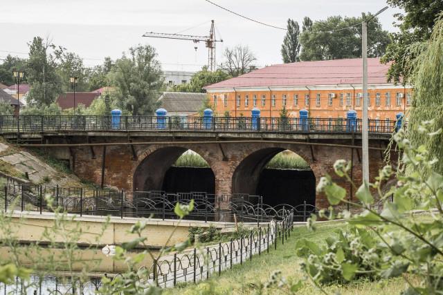 Новозыбков. Мост. июль 2019 г. Фото Б.А. Мейкупа