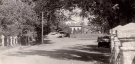 Новозыбков. Вид с моста в сторону школы № 1. 1958 г.